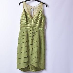 Chetta B Layered Dress, Sz 8